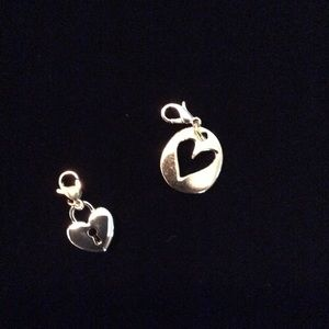 Origami Owl Gold dangle charms - New
